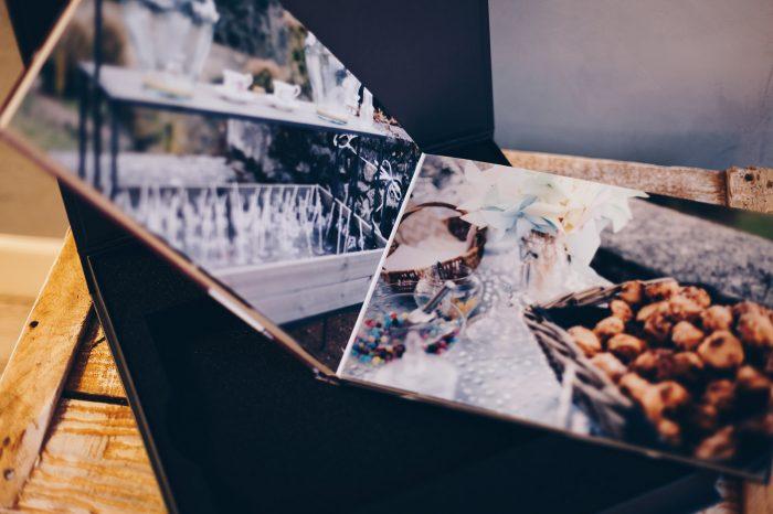 Album photo 28x19 cms, boutique L'oeil de Noémie photographe Auvergne