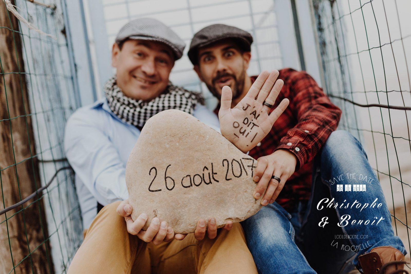 séance photo engagement à la Rochelle, par L'oeil de Noémie photographe de mariage à La Rochelle et partout en France