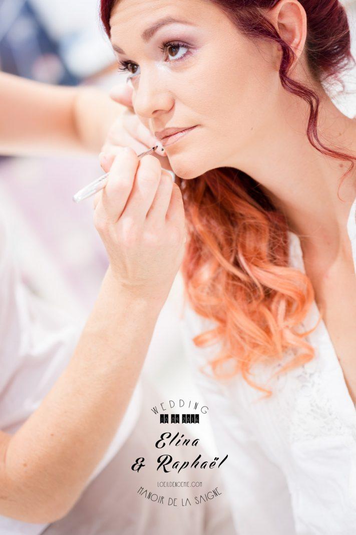belle photo de préparatif de la mariée, par L'oeil de Noémie, photographe artistique de mariage à Vichy en Auvergne, et partout en France