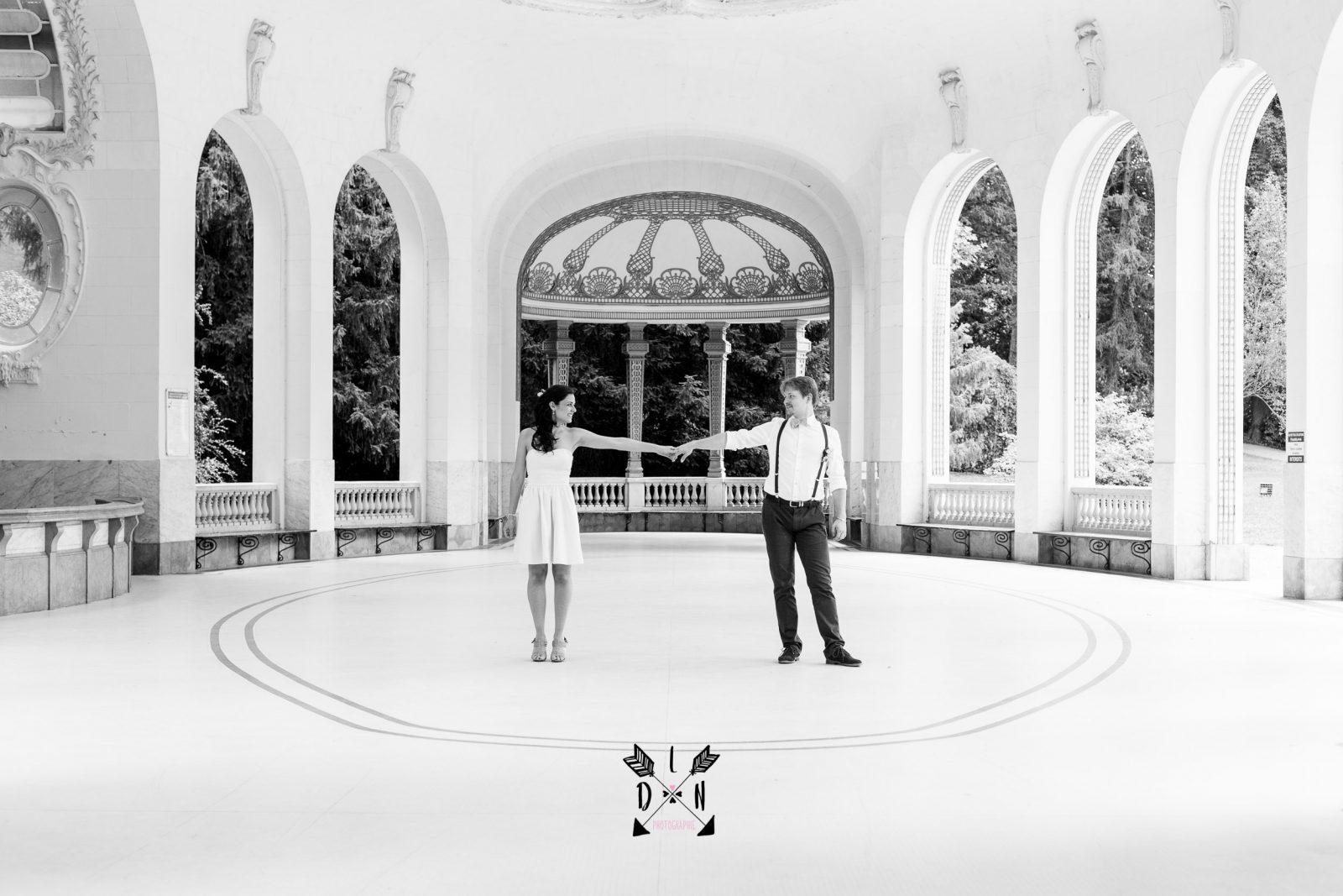 photo mariage source des célestins, oui je le veux, L'oeil de Noémie photographe de mariage à Vichy en Auvergne