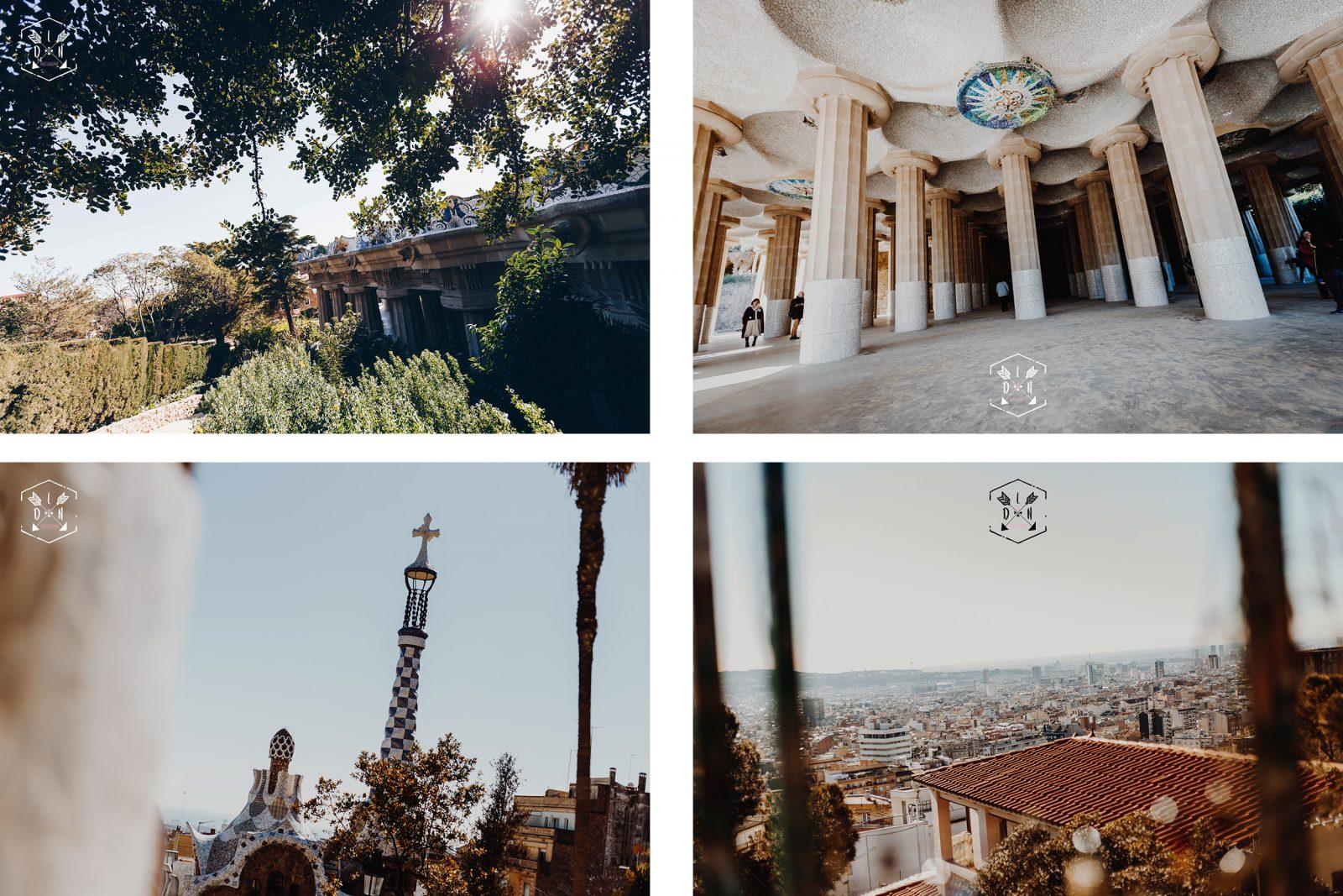 citytrip Barcelona, travel Espagne, le parc Güell, Gaudí, L'oeil de Noémie photographe de voyage et de mariage à Barcelone en Espagne