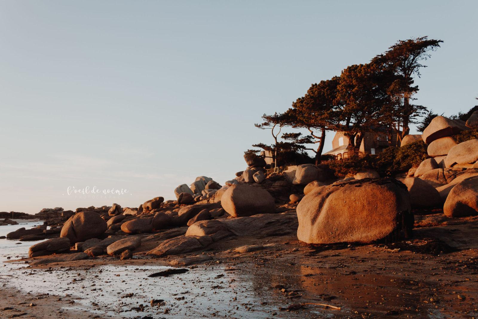 mariage funky Bretagne, photographe mariage Bretagne, côtes de granit rose