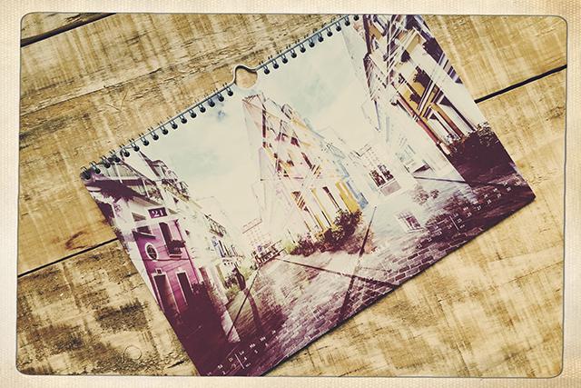 calendrier photo à suspendre par L'oeil de Noémie, photographe mariage et famille à Clermont-Ferrand, auvergne