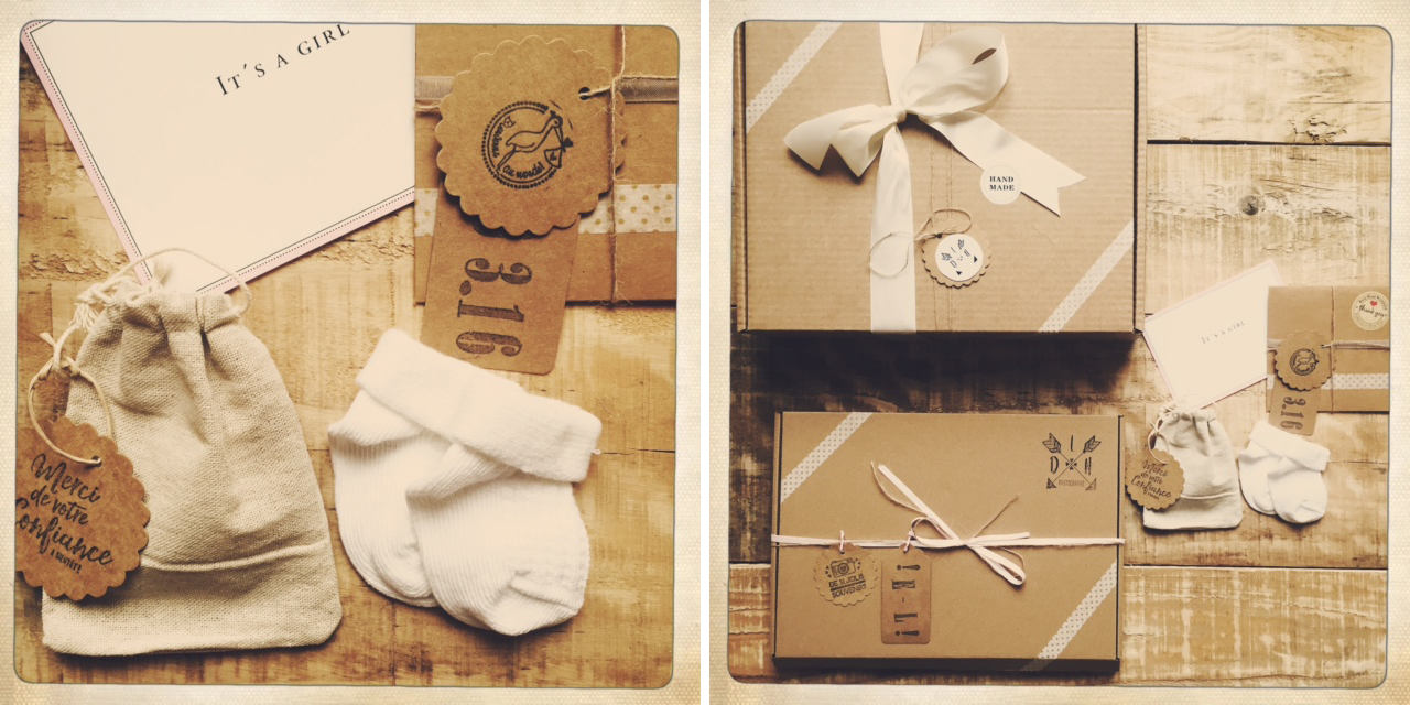 Mariage, Grossesse, Naissance, Famille, à chacun son packaging !