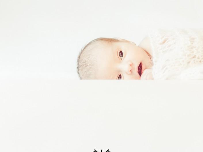 Photo portrait de nouveau-né, par L'oeil de Noémie, photographe bébé à Clermont-Ferrand
