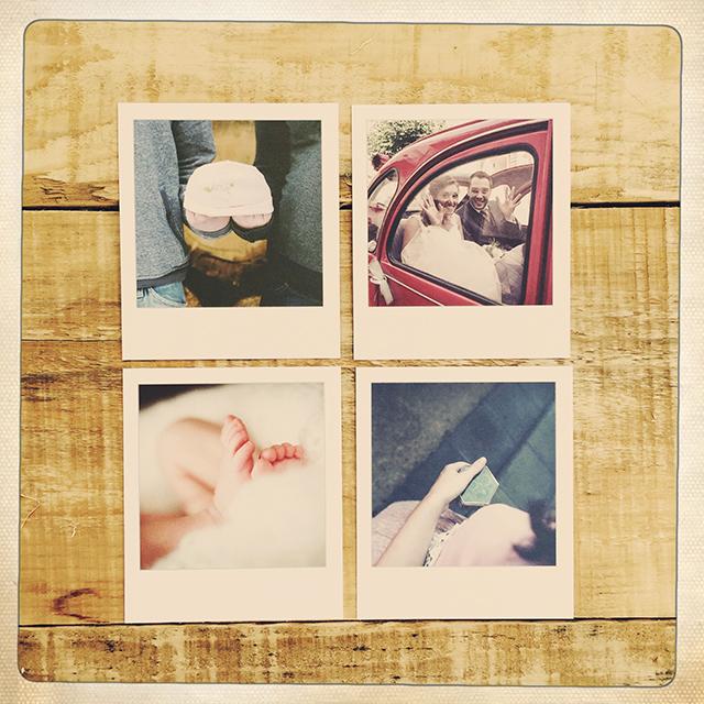 photo style polaroid par L'oeil de Noémie, photographe de mariage à Clermont-Ferrand, en Auvergne