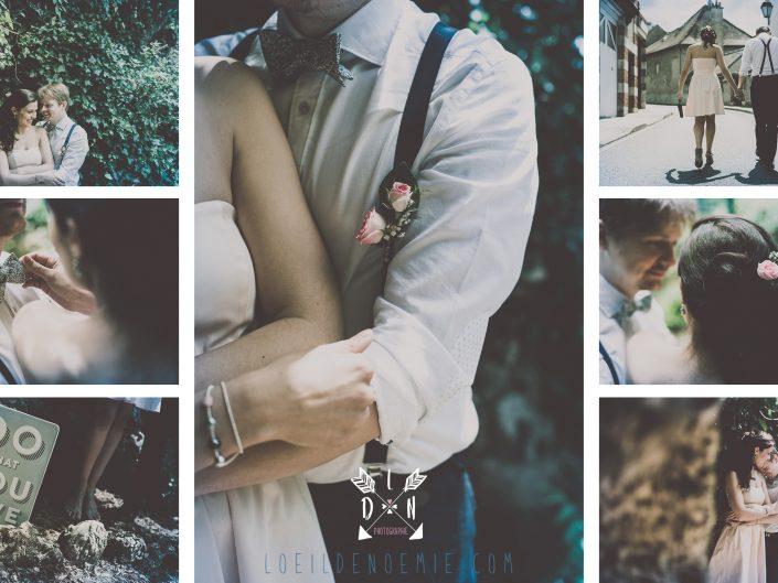 séance photo engagement à Vichy, magnifiques photos de couple, L'oeil de Noémie photographe mariage vichy