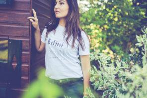 T-shirt phrase par L'oeil de Noémie, photographe à Clermont-Ferrand, en Auvergne, et partout en Europe.