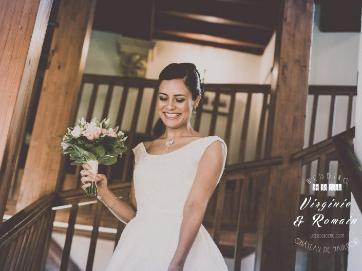 mariage et sourires, meilleure photographe de mariage en Auvergne, L'oeil de Noémie, capturer les instants qui vous échappent