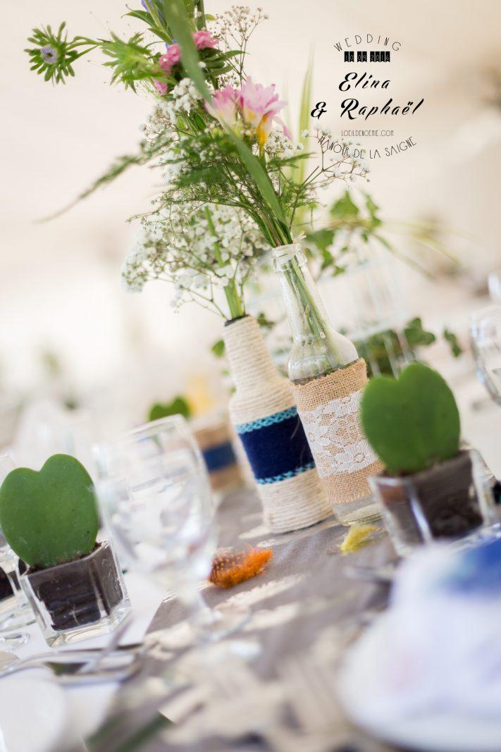 décoration de mariage hippie chic, par L'oeil de Noémie, photographe de mariage à Clermont-Ferrand en Auvergne, et partout en France