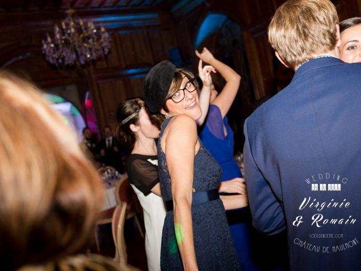 photo ouverture de bal château de Maulmont, par L'oeil de Noémie photographe de mariage à Vichy en Auvergne et partout en France