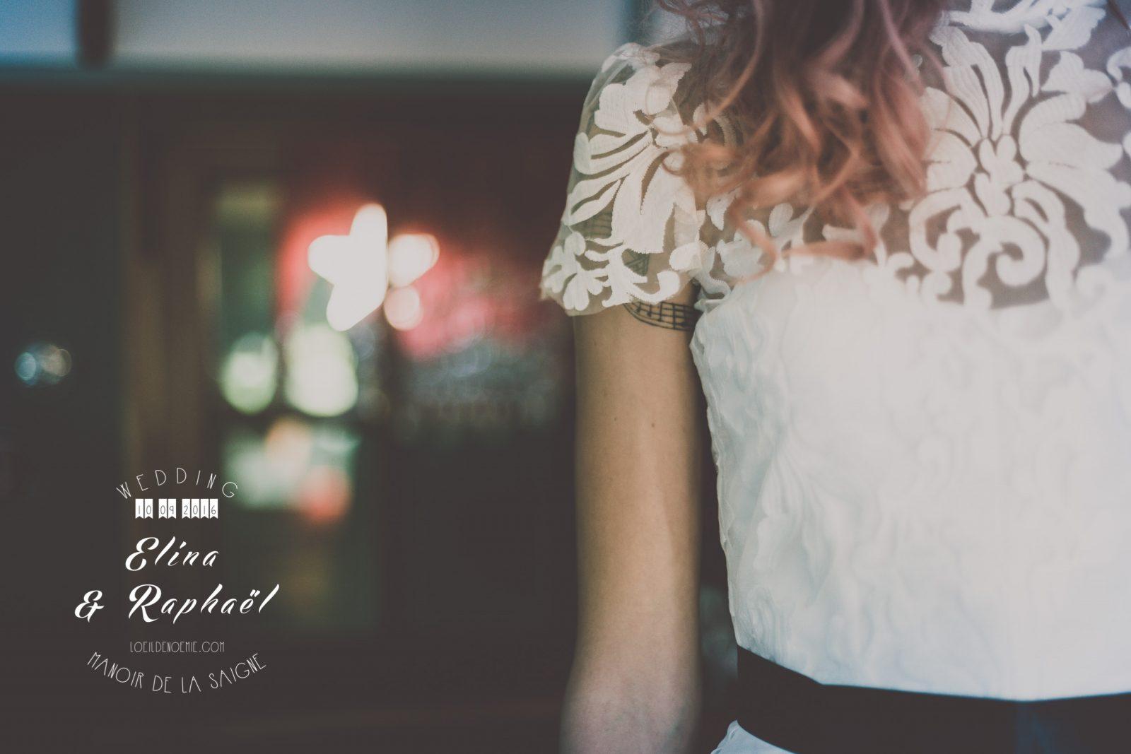 tatouage mariée, belle photo de préparatif de la mariée, par L'oeil de Noémie, photographe artistique de mariage à Vichy en Auvergne, et partout en France