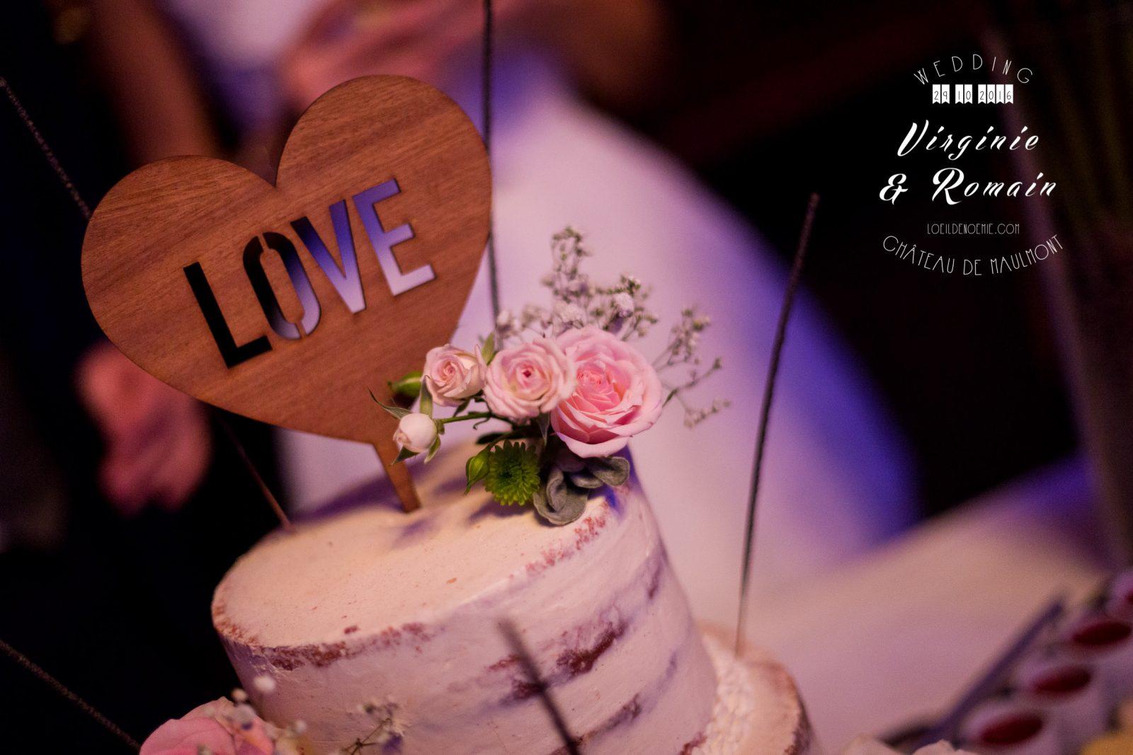 wedding cake, gâteau de mariage, par L'oeil de Noémie photographe de mariage à Vichy en Auvergne