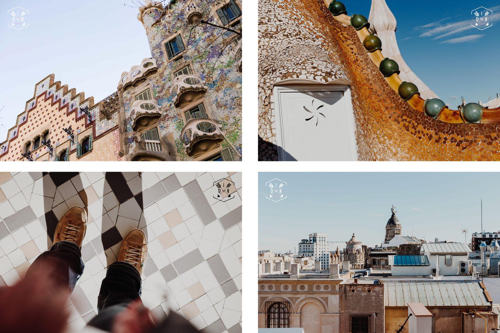 Citytrip Barcelona, travel Barcelone, casa Batlló, Gaudí, par L'oeil de Noémie photographe de mariage à Barcelone en espagne