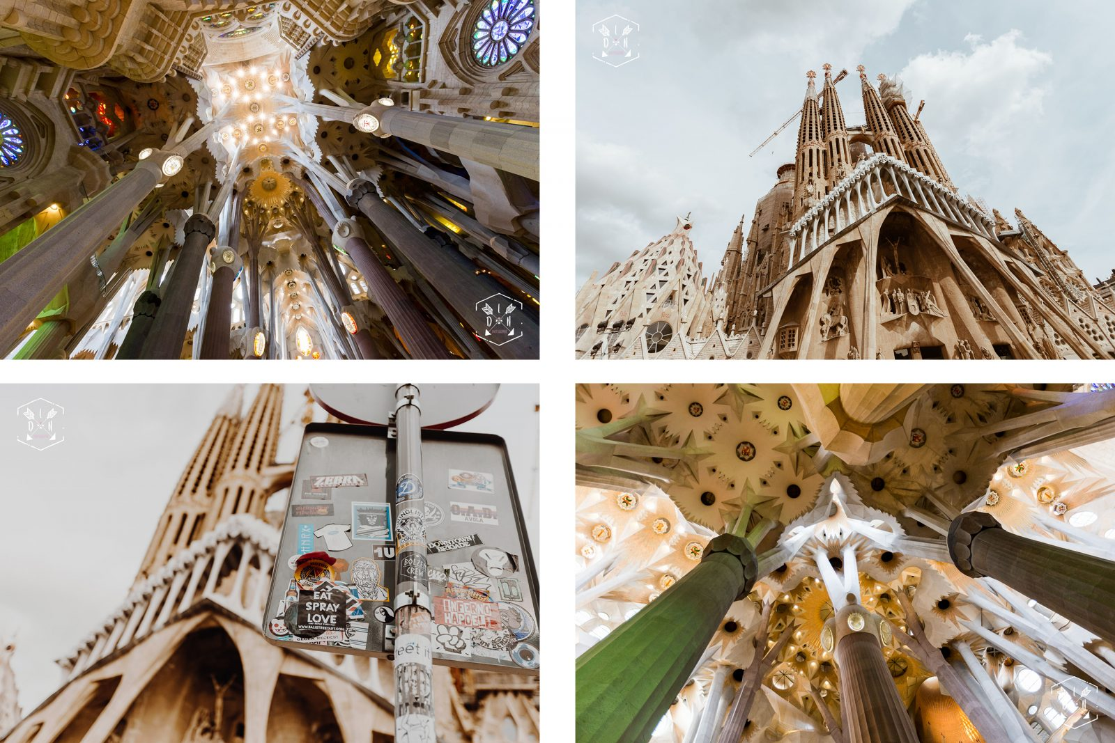 citytrip Barcelona, travel Espagne, cathédrale Gaudí, la Sagrada Família , L'oeil de Noémie photographe de voyage et de mariage à Barcelone en Espagne
