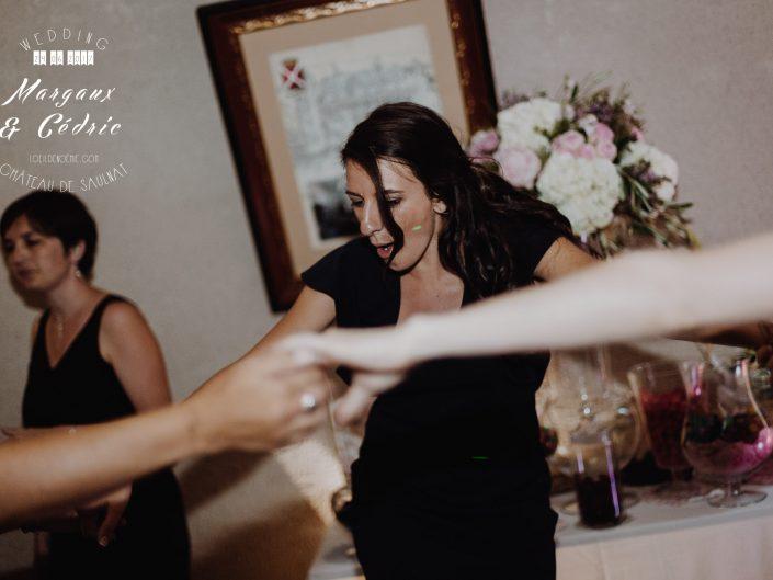 photo soirée de mariage, L'oeil de Noémie meilleur photographe de mariage en Auvergne