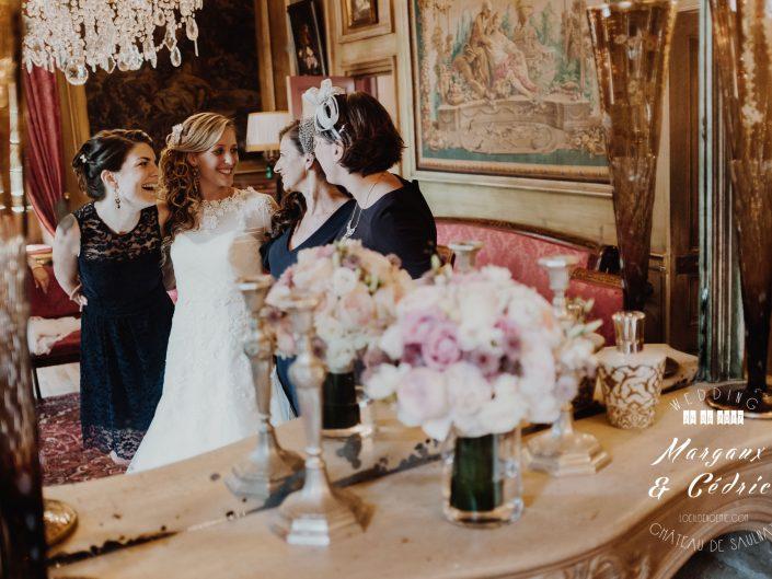 mariage chic et gourmand, photo préparatifs mariage Auvergne, L'oeil de Noémie meilleur photographe de mariage en Auvergne