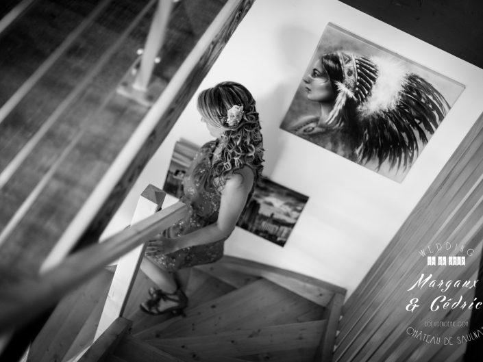mariage chic et gourmand, photo préparatifs mariage Auvergne, L'oeil de Noémie meilleur phootgraphe de mariage en Auvergne