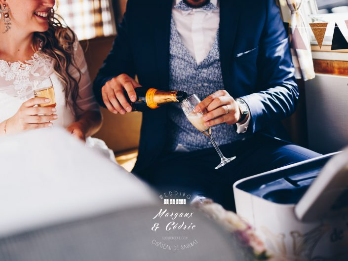 mariage chic et gourmand, décoration et détails chics de mariage, belle photo soirée de mariage, L'oeil de Noémie meilleur photographe de mariage en Auvergne