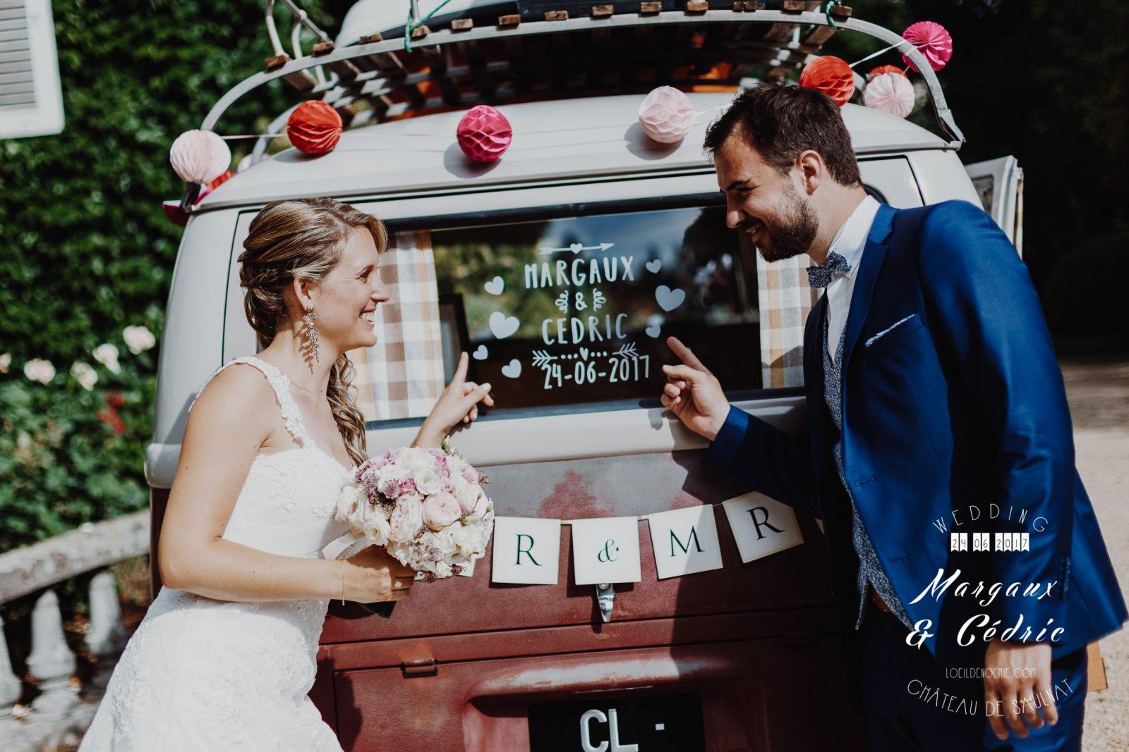 réussir son mariage, décoration et détails chics de mariage, belle photo soirée de mariage, L'oeil de Noémie meilleur photographe de mariage en Auvergne