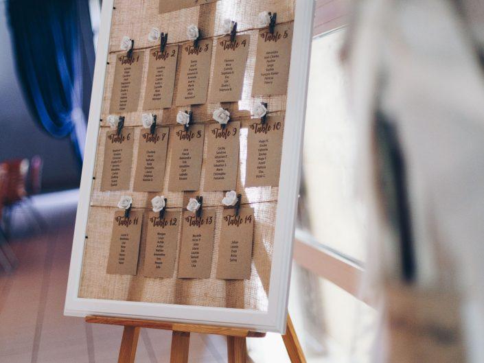 sublime photo de décoration de table de mariage, L'oeil de Noémie meilleur photographe de mariage en Auvergne, espace des Chanvres, Puy de Dôme