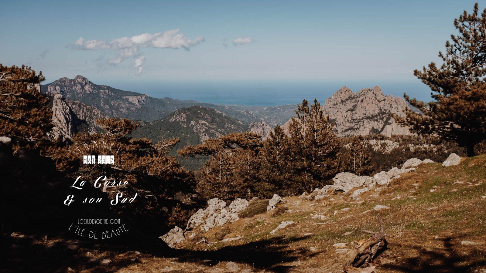 Road Trip vers les Aiguilles de Bavella. L'oeil de Noémie, photographe et blogueuse voyage. Belle photo de Corse.