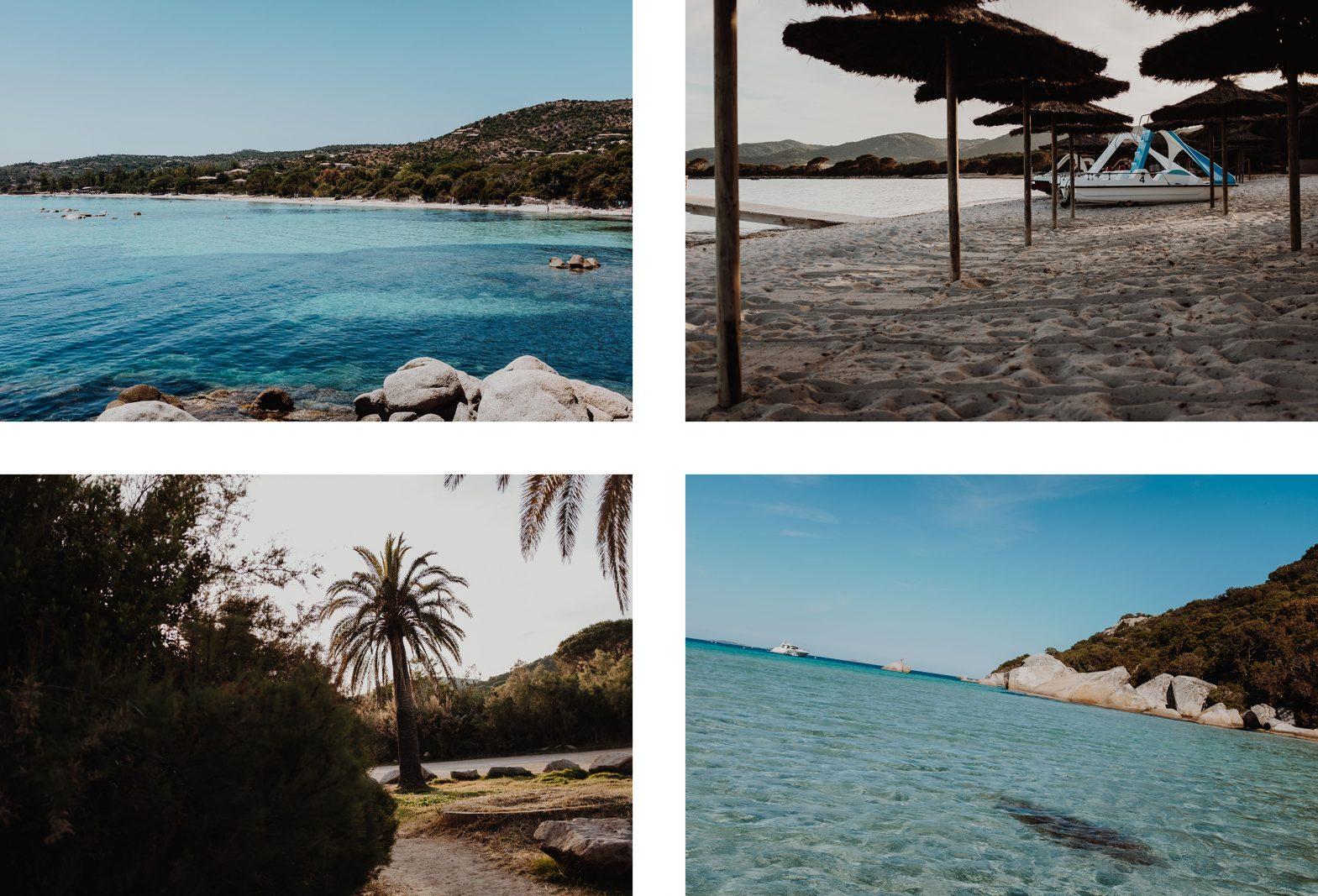 Baie de Santa Giulia par L'oeil de Noémie, photographe et blogueuse voyage. Belle photo de Corse du Sud.