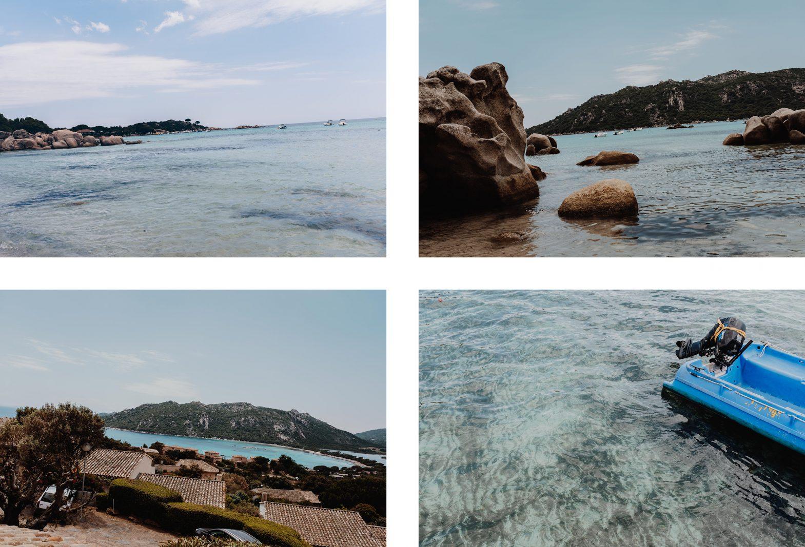 Baie de Santa Giulia et Palombaggia par L'oeil de Noémie, photographe et blogueuse voyage. Belle photo de Corse du Sud.