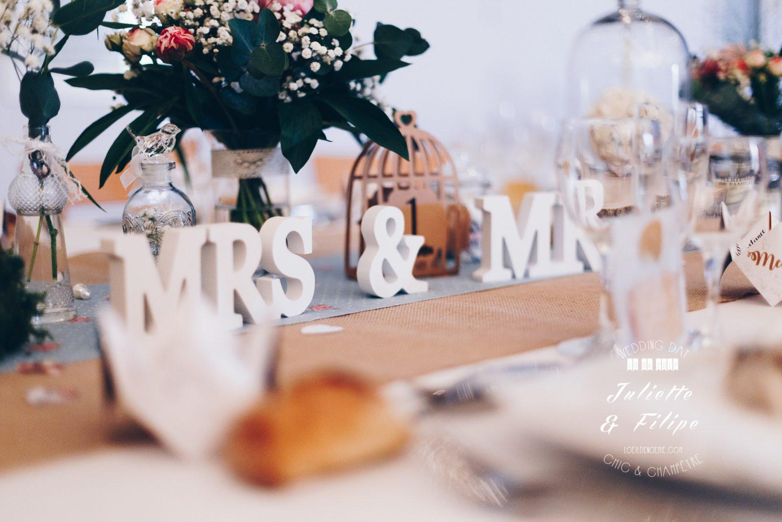 photo de mariage chic et champêtre par L'oeil de Noémie, élue meilleur photographe de mariage en Auvergne en 2017
