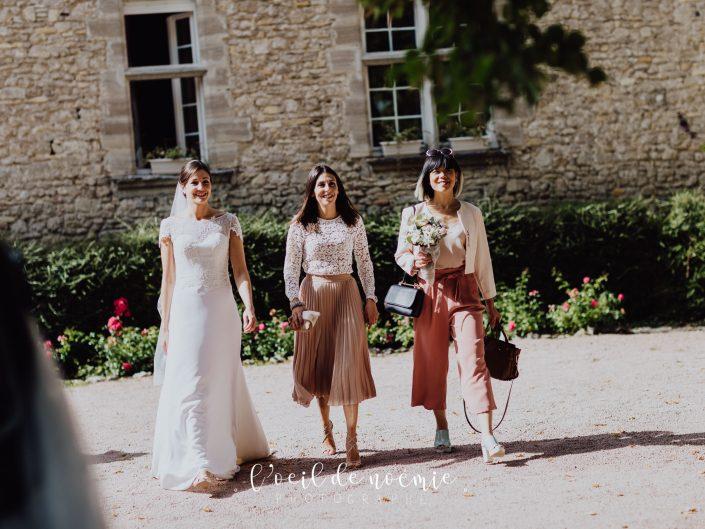Histoire d'un beau mariage, mariage Château des Roses et des Tours. Récit en photos par L'oeil de Noémie, alternative french wedding photographer.