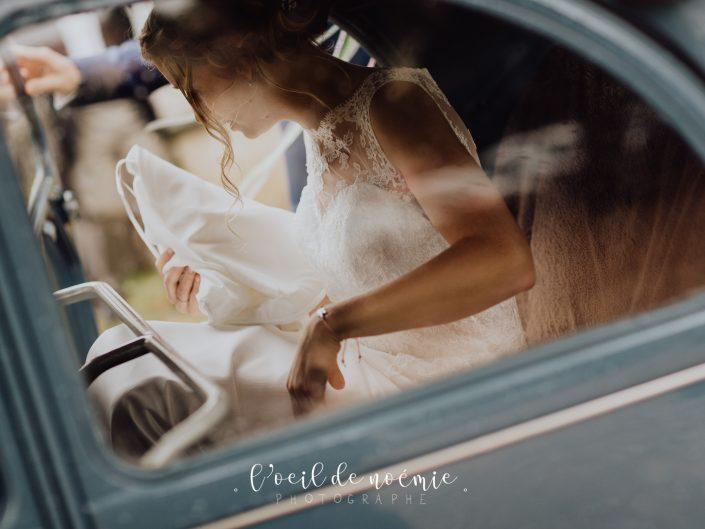 Beau reportage photos de mariage, Domaine de Rochefort, Puy de Dôme, par L'oeil de Noémie élue meilleur photographe de mariage