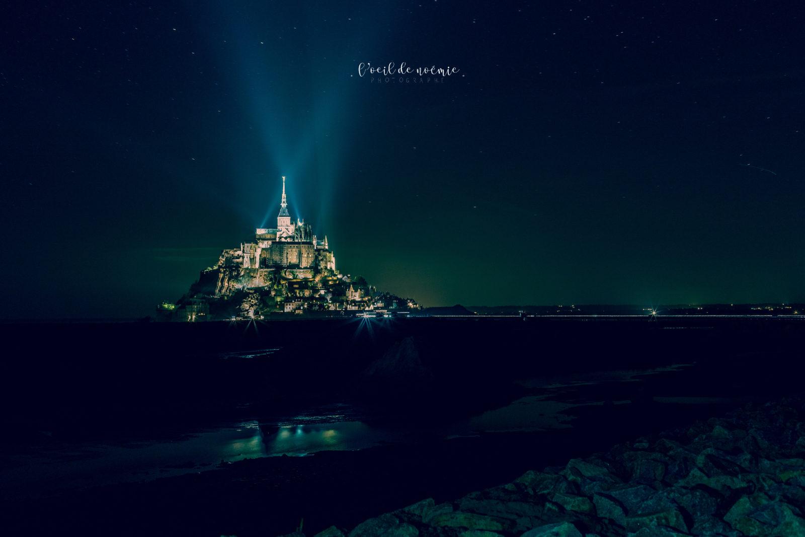 photographe mariage vue sur mer, Mont Saint Michel, L'oeil de Noémie