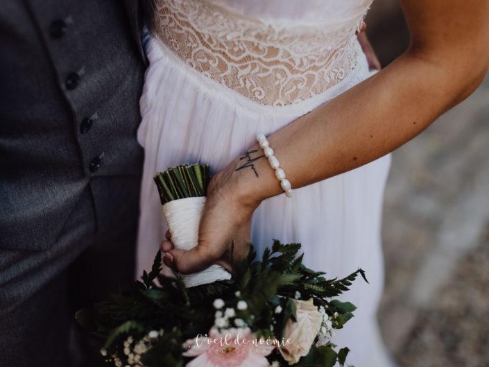 Mariage bohème et champêtre en Dordogne