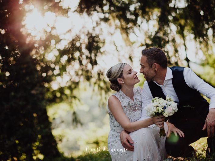 mariage bohème au coeur des vignes vers Vichy en Auvergne, mariage nature et original, l'oeil de noémie meilleur photographe mariage auvergne rhone alpes