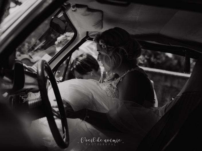 mariage vintage et coloré au domaine clos du fort en Auvergne, photo de mariage moderne et artistique, l'oeil de noémie photographe Clermont-Ferrand