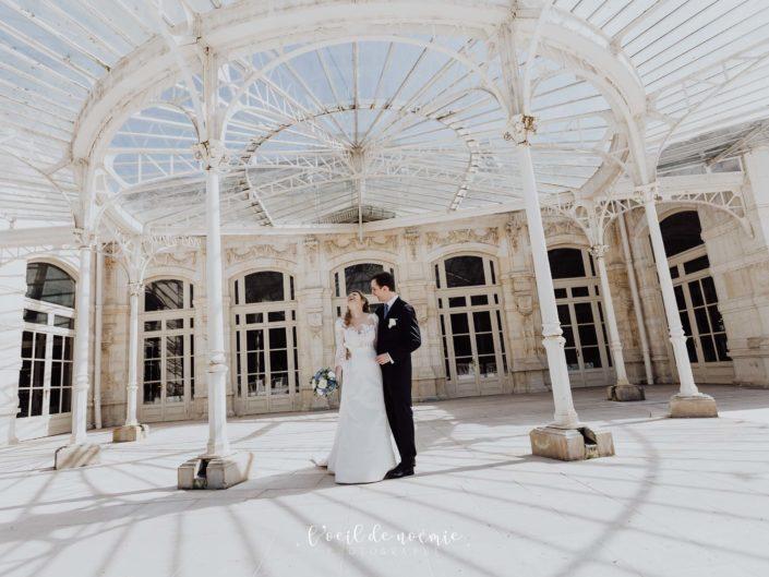Vichy à l'honneur pour le mariage d'Audrey & Basile
