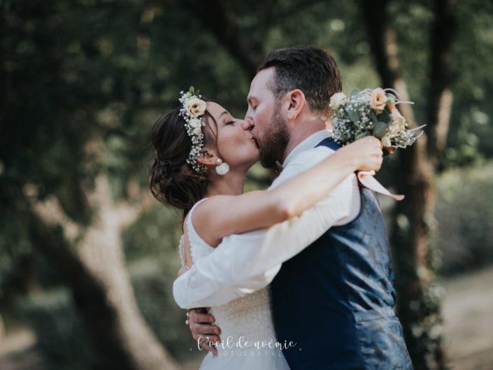 inspiration mariage cool et bohème, belle photo de mariage par L'oeil de Noémie, meilleur photographe mariage Auvergne par ZIWA 2019