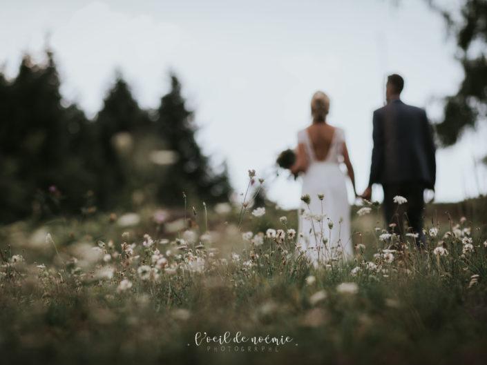 Mariage romantique et bucolique au Château des Martinanches