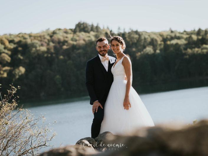 photographe mariage Vichy en Auvergne, photo originale mariage trash the dress