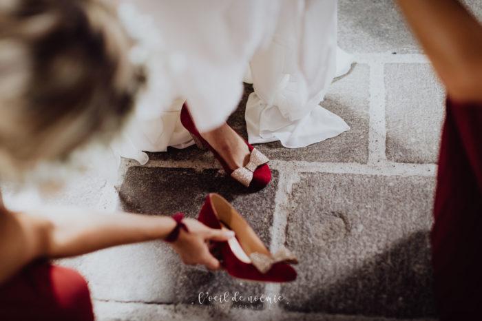 trouver la robe parfaite pour son mariage, inspiration mariage retro auvergne, l'oeil de noémie meilleur photographe mariage vichy