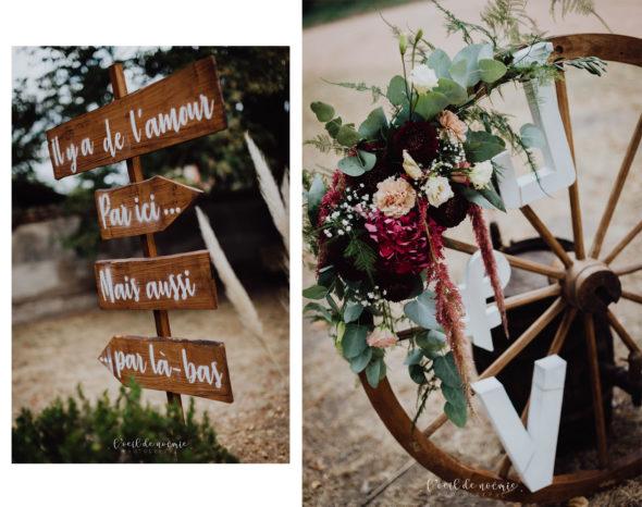 trouver la robe parfaite pour son mariage, inspiration mariage retro auvergne, l'oeil de noémie meilleur photographe mariage clermont-ferrand