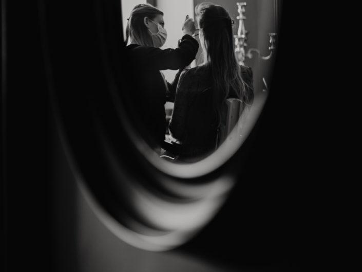 mariage château de bois rigaud, shooting inspiration mariage bohème chic et vintage, mariage avec son chien Golden retriever, meilleur photographe mariage Clermont-ferrand Auvergne Rhône Alpes